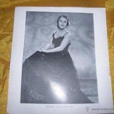 Cine: FOTO DE ESTRELLITA CASTRO. REVISTA HORIZONTE. REVERSO PUBLICIDAD HISPANIA TOBIS *. Lote 52868772