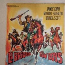 Cine: CARTEL FRANCÉS LA BRIGADE DES COW BOYS (JORNADA A SILOH). Lote 52884070