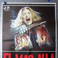 Cine: EL MAS ALLA - LUCIO FULCI, KATHERINE MACCOLL, DAVID WARBECK, SARAH KELLER - AÑO 1981. Lote 52862372