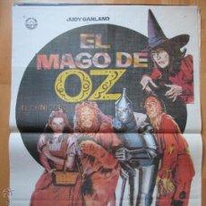 Cine: CARTEL CINE, EL MAGO DE OZ, JUDY GARLAND, FRANK MORGAN, 1982, JANO, C795. Lote 52965141