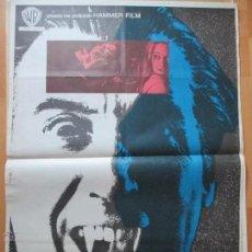 Cine: CARTEL CINE, EL PODER DE LA SANGRE DE DRACULA, CHRISTOPHER LEE, 1972, C804. Lote 52966729
