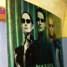 Cine: MATRIX RELOADED - CARTEL DE CINE DE CARTÓN DURO - 68X68 - LANZAMIENTO DVD. Lote 52972391