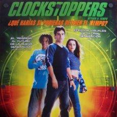 Cine: CLOCK STOPPERS (CARTEL FILM FANTASÍA). Lote 53003984