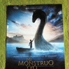 Cine: CINE - MI MONSTRUO Y YO - POSTER DE 21 × 29 CM.. Lote 53014794