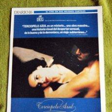 Cinema: CINE - TERCIOPELO AZUL - POSTER DE 21 × 29 CM.. Lote 53014990