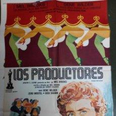 Cine: LOS PRODUCTORES - APROX 70X100 CARTEL ORIGINAL CINE. Lote 53041807