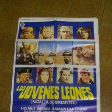 Cine: LOS JOVENES LEONES. Lote 53058077
