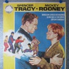 Cine: LA CIUDAD DE LOS MUCHACHOS. SPENCER TRACY, MICKEY ROONEY. AÑO 1972. Lote 117084887