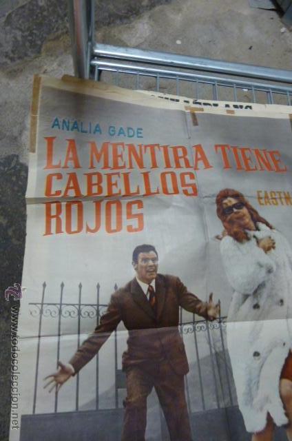 Cine: LA MENTIRA TIENE CABELLOS ROJOS -CON ANALIA GADE Y ARTURO FERNANDEZ cartel de cine - Foto 4 - 53110941