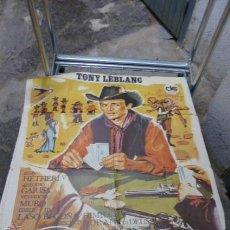 Cine: TORREJON CITY CON TONY LEBLANC-CARTEL DE CINE-. Lote 53110967