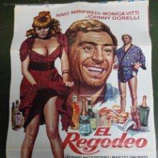 Cine: EL REGODEO - APROX 70X100 CARTEL ORIGINAL CINE. Lote 53111354