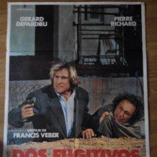 Cine: DOS FUGITIVOS - APROX 70X100 CARTEL ORIGINAL CINE. Lote 53129319