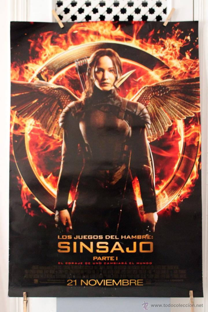 Los Juegos Del Hambre Sin Sanjo Poster Original Comprar Carteles Y