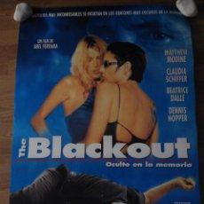 Cine: THE BLACKOUT - APROX 70X100 CARTEL ORIGINAL CINE (L5). Lote 53200660