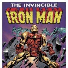 Cine: THE INVENCIBLE IRON MAN. PORTADA DE COMIC. LÁMINA CARTEL 45 X 32 CMS.. Lote 53355656