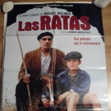 Cine: LAS RATAS - APROX 70X100 CARTEL ORIGINAL CINE (L10). Lote 122045334
