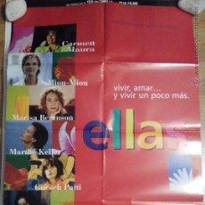 Cine: ELLAS - APROX 70X100 CARTEL ORIGINAL CINE (L10). Lote 53395796