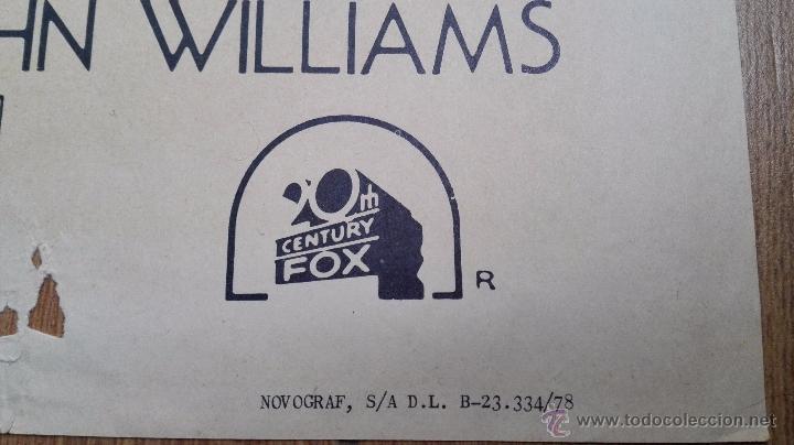 Cine: Espectacular Cartel Original de 1978 La Guerra de las Galaxias ( Stars War ). 98 X 68 cms.Ver fotos - Foto 3 - 53407105