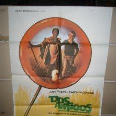 Cine: DOS AMIGOS POSTER ORIGINAL YY (1215). Lote 53415631