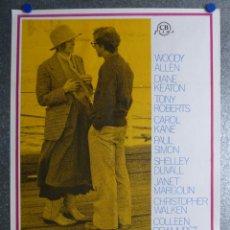 Cine: ANNIE HALL, WOODY ALLEN, DIANE KEATON - AÑO 1977. Lote 209949150