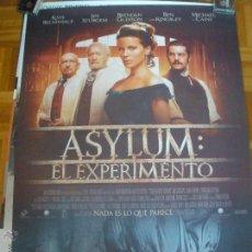 Cine: ASYLUM EL EXPERIMENTO POSTER. Lote 53421018