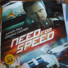 Cine: NEED FOR SPEED - AARON PAUL, DOMINIC COOPER POSTER. Lote 53421515