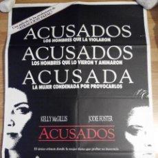 Cine: ACUSADOS - APROX 70X100 CARTEL ORIGINAL CINE (L14). Lote 53512494