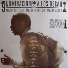 Cine: 12 AÑOS DE ESCLAVITUD (FILM DRAMÁTICO). Lote 53555748