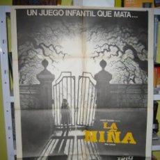 Cine: LA NIÑA TERROR POSTER ORIGINAL 70X100 Q. Lote 53570000