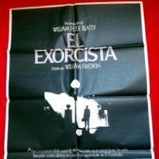 Cine: EL EXORCISTA 1975 ( CARTEL ORIGINAL DE SU ESTRENO EN ESPAÑA EN 1975) TERROR DE CULTO. Lote 192098426