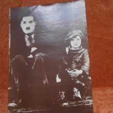 Cine: CHARLES CHAPLIN -THE KID - POSTER / CALENDARIO AÑO 1977-. Lote 53579062