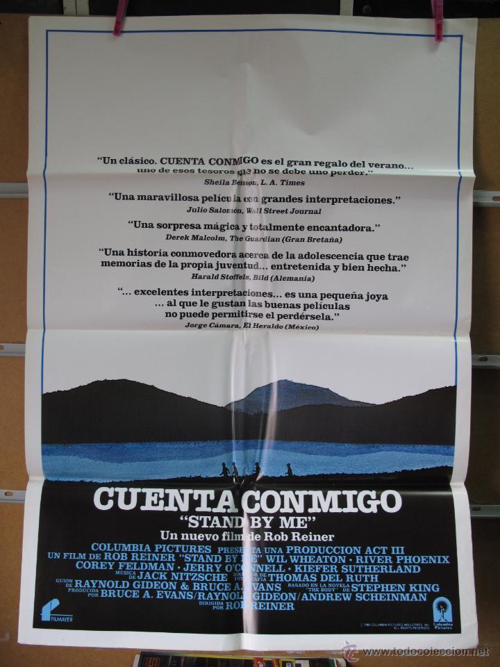 POSTER1876 CUENTA CONMIGO (Cine - Posters y Carteles - Deportes)
