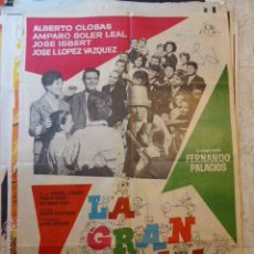 Cine: LA GRAN FAMILIA .1962.CARTEL DE CINE- MOVIE POSTER. Lote 53619760