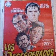 Cine: LOS DESESPERADOS. CARTEL DE CINE- MOVIE POSTER 70 X 100 CM. Lote 53621598