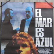 Cine: CARTEL DE CINE EL MAR ES AZUL JUAN DIEGO CINE ESPAÑOL // ORIGINAL 70X100. Lote 53655090