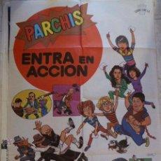 Cine: PARCHIS ENTRA EN ACCION. CARTEL DE CINE- MOVIE POSTER. Lote 53660643
