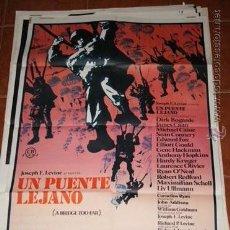 Cine: CARTEL CINE UN PUENTE LEJANO. Lote 53667836