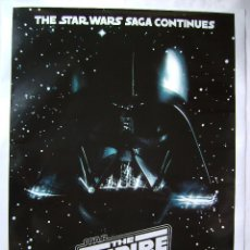 Cine: STAR WARS. THE EMPIRE STRIKES BACK. POSTER.. Lote 167871718