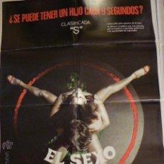 Cine: EL SEXO ESTA LOCO. CARTEL DE CINE - MOVIE POSTER. Lote 53726003