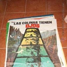 Cine: CARTEL CINE LAS COLINAS TIENEN OJOS. Lote 53735962