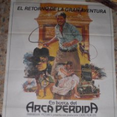 Cine: CARTEL CINE ORIGINAL INDIANA JONES Y EL ARCA PERDIDA 1981. Lote 207143986