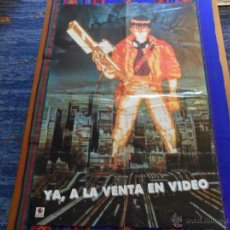 Cine: CARTEL AKIRA YA A LA VENTA EN VÍDEO. 84X56 CMS. BUEN ESTADO. MUY RARO.. Lote 53858736