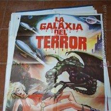 Cine: CARTEL CINE LA GALAXIA DEL TERROR. Lote 53860870