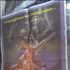 Cine: EL IMPERIO CONTRAATACA STAR WARS. POSTER. CARTEL. 70100. DOBLADO. PERFECTO ESTADO. Lote 137929273