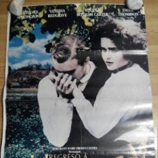Cine: REGRESO A HOWARDS END - APROX 70X100 CARTEL ORIGINAL CINE (L16). Lote 54130782