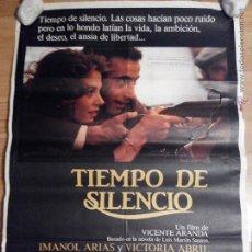 Cine: TIEMPO DE SILENCIO - APROX 70X100 CARTEL ORIGINAL CINE (L16). Lote 191220123
