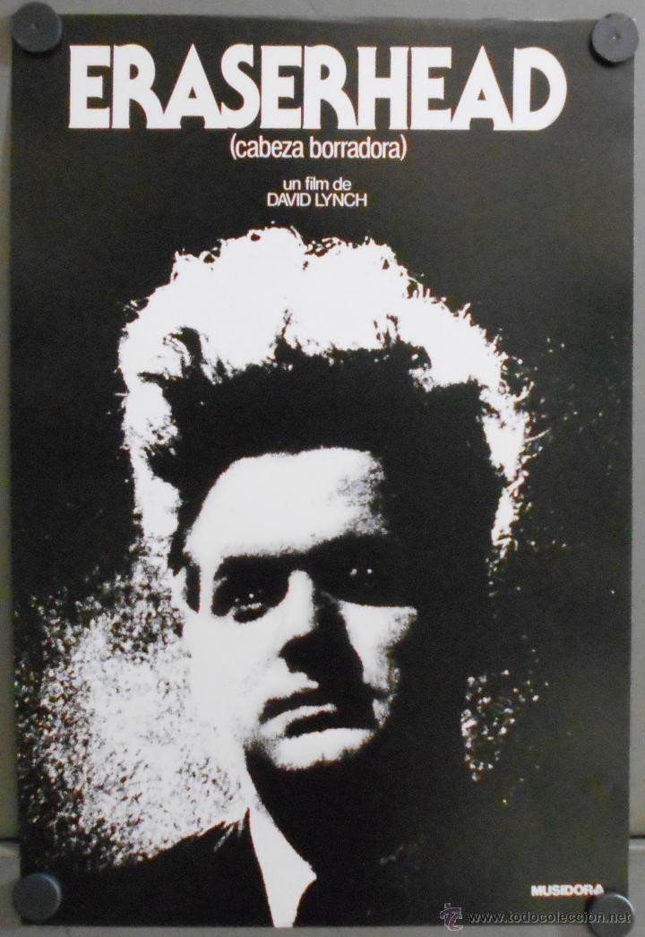 QQ32 ERASERHEAD CABEZA BORRADORA DAVID LYNCH PROGRAMA MINI POSTER ORIGINAL ESTRENO (Cine - Posters y Carteles - Ciencia Ficción)