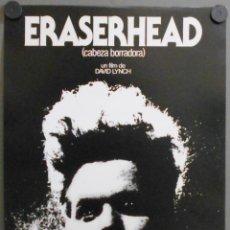 Cine: QQ32 ERASERHEAD CABEZA BORRADORA DAVID LYNCH PROGRAMA MINI POSTER ORIGINAL ESTRENO. Lote 133800637