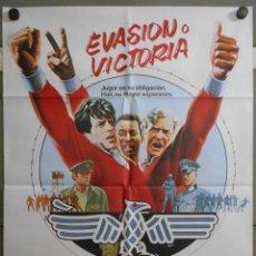 Cine: QQ35D EVASION O VICTORIA PELE MICHAEL CAINE FUTBOL POSTER ORIGINAL 70X100 ESTRENO. Lote 210774797