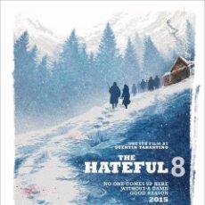 Cine: THE HATEFUL EIGHT. LOS ODIOSOS OCHO. LÁMINA CARTEL 45 X 32 CMS.. Lote 54253738